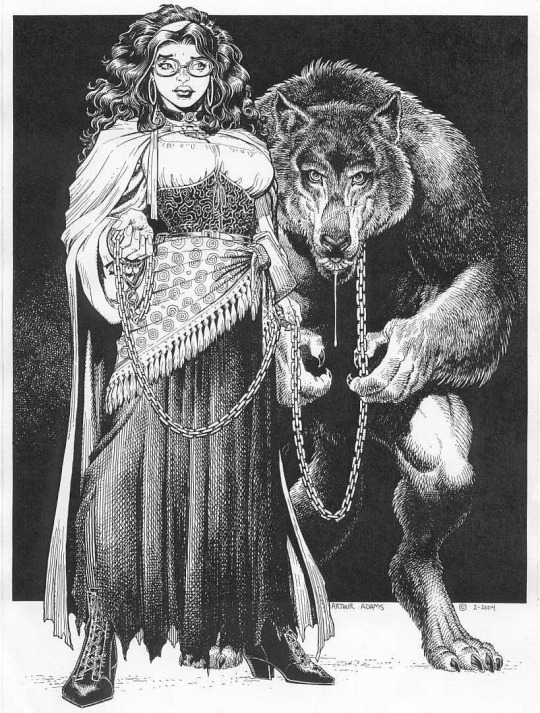 Red Riding Hood and the Wolf