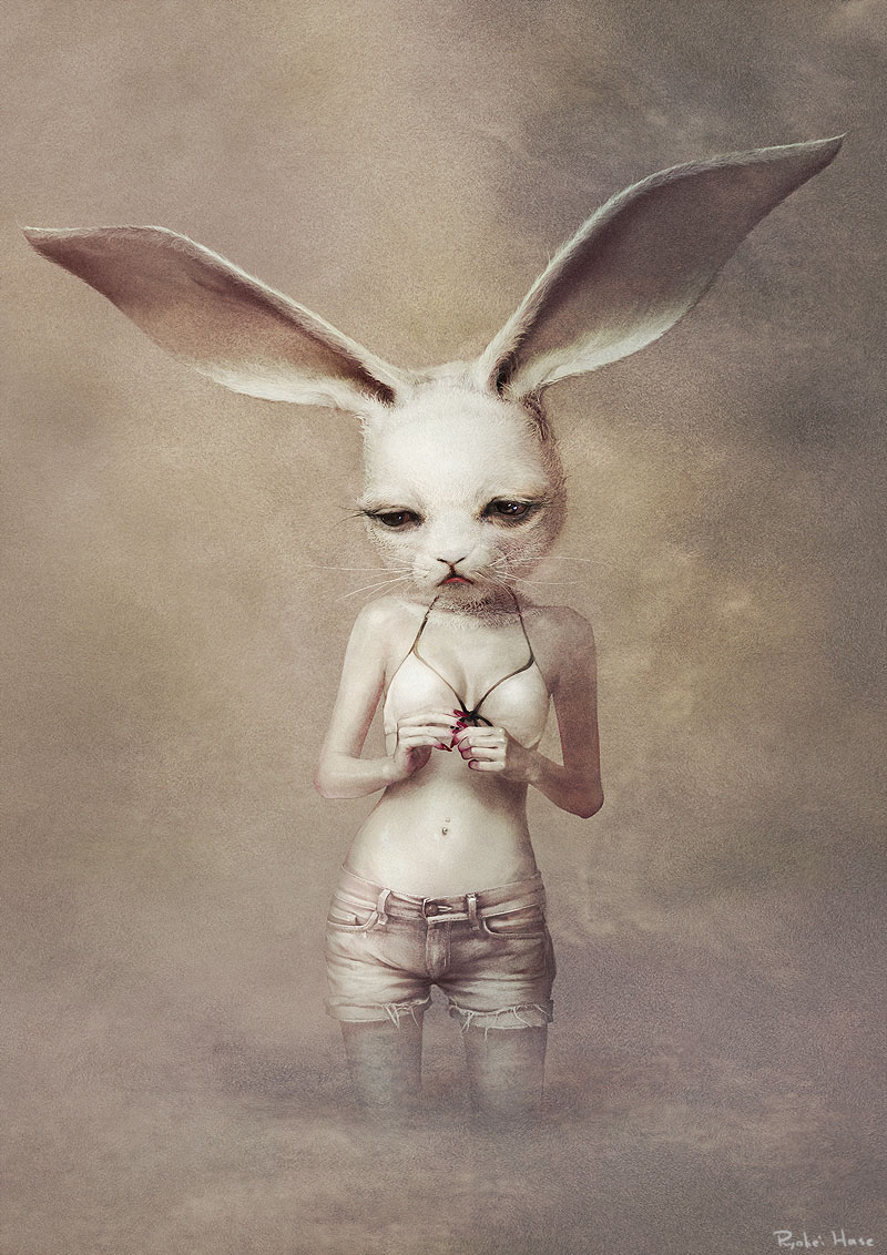 Sad sexy bunny