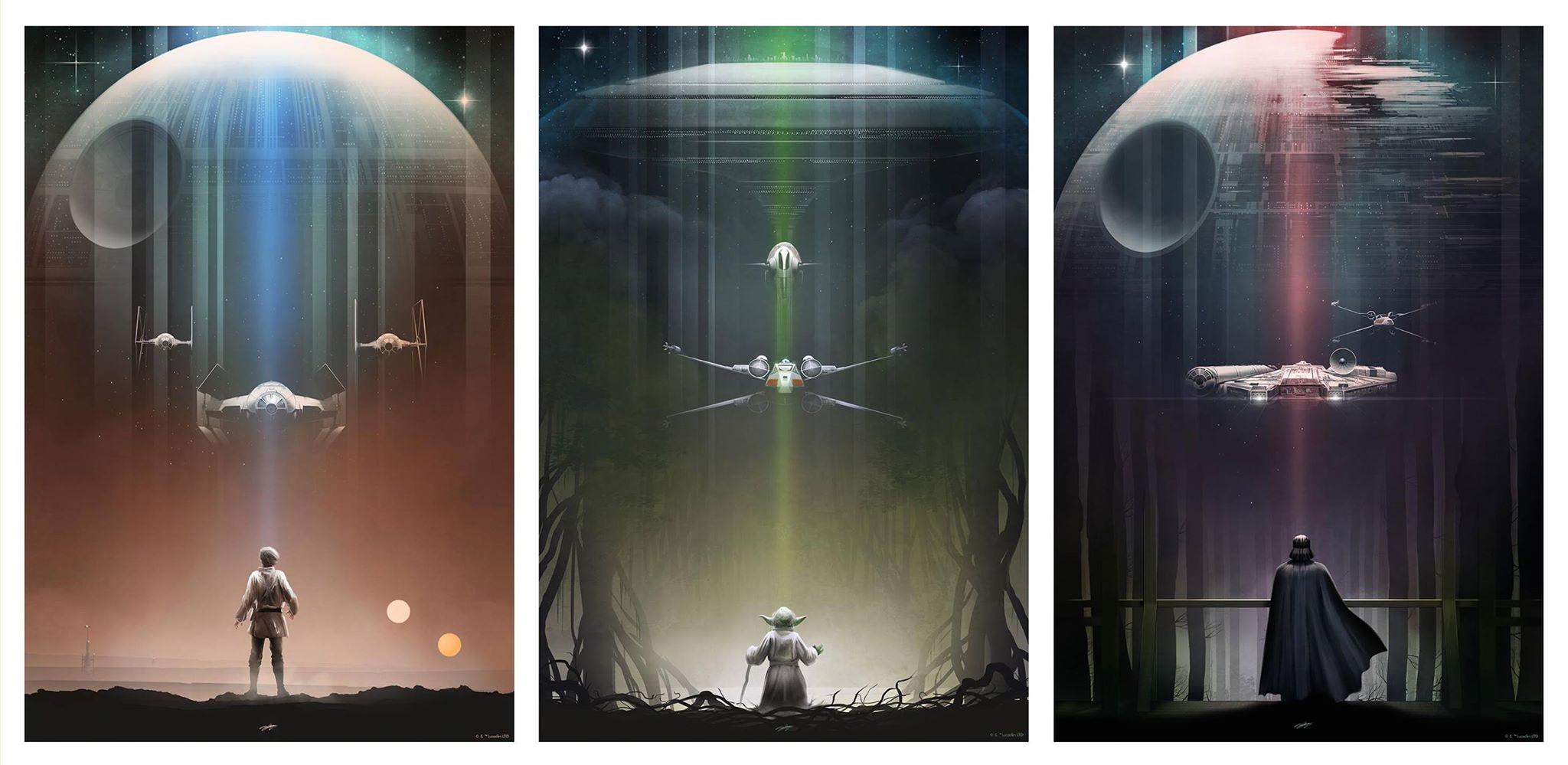 """Star Wars"" poster art"