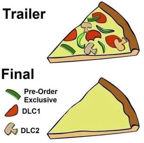 Trailer vs Release