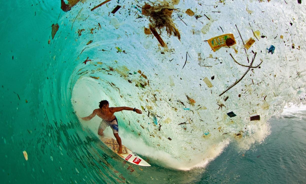 Trash wave