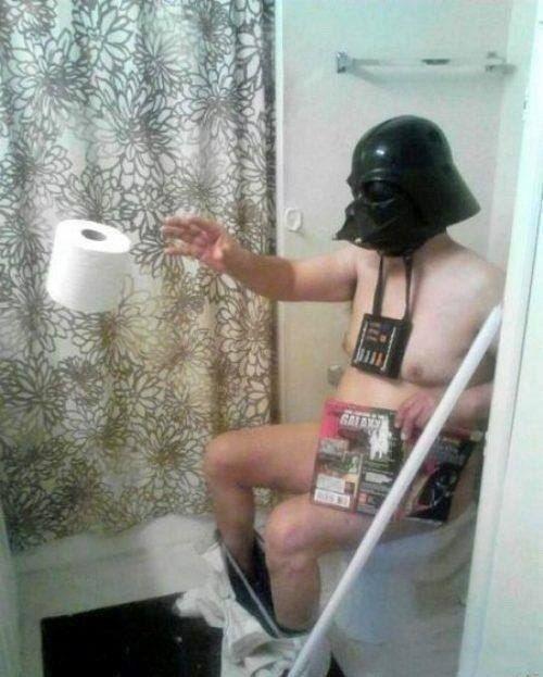 Darth Vader style