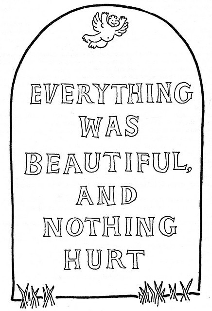 Everything was beautiful, and nothing hurt