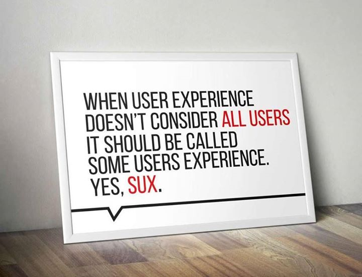 SUX – some users experience