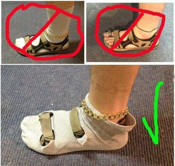 4a75e7b74fd How to Wear Socks and Sandals Without Looking Like a Tourist ...