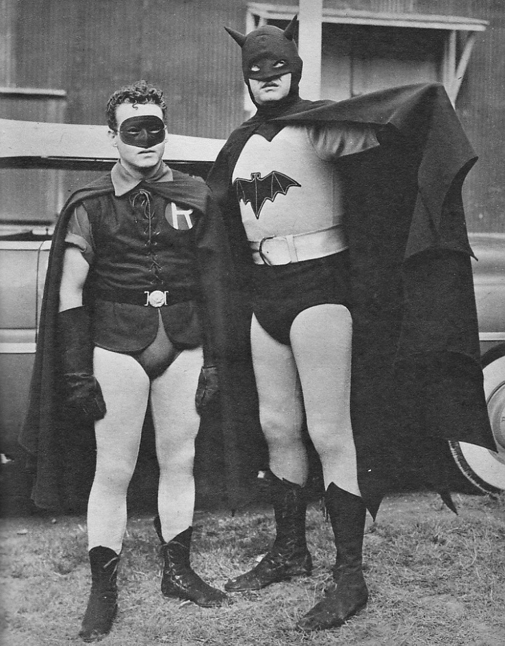 Robert Lowery and Johnny Duncan as Batman and Robin [1949]