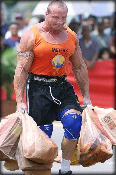 Crossfit Discipline – bringing in the groceries