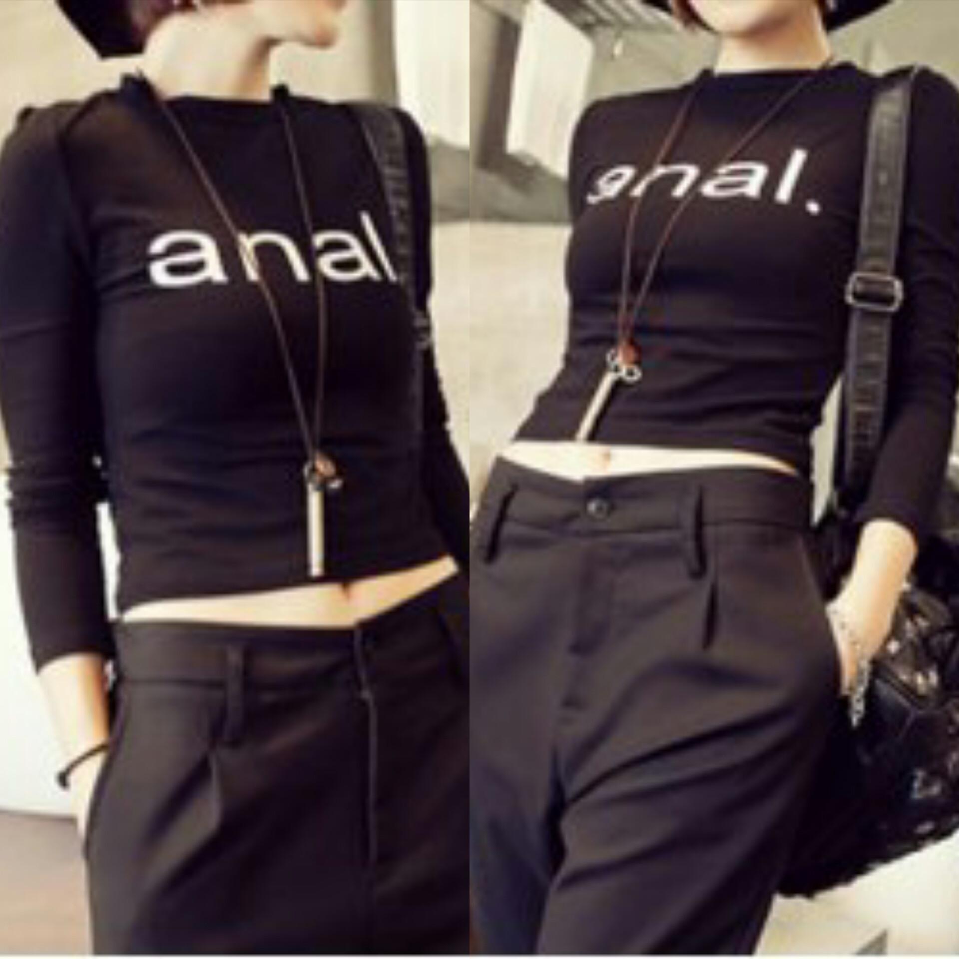 Anal fashion