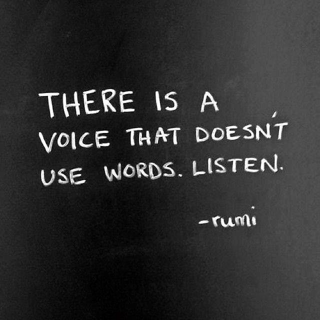 Voice that doesn't use words