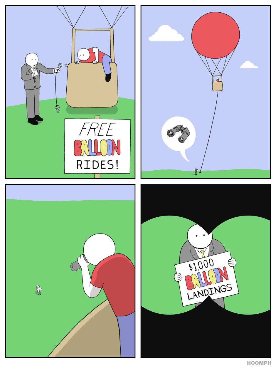 FREE balloon rides!