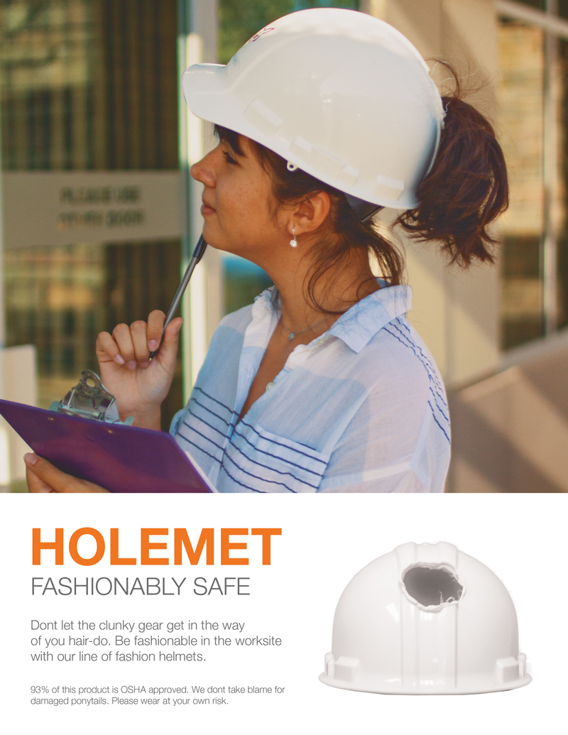 Holemet – fashionably safe