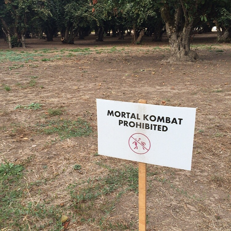 Mortal Kombat prohibited