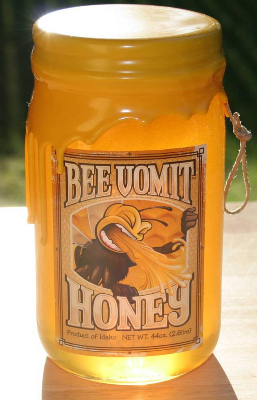 Bee Vomit Honey
