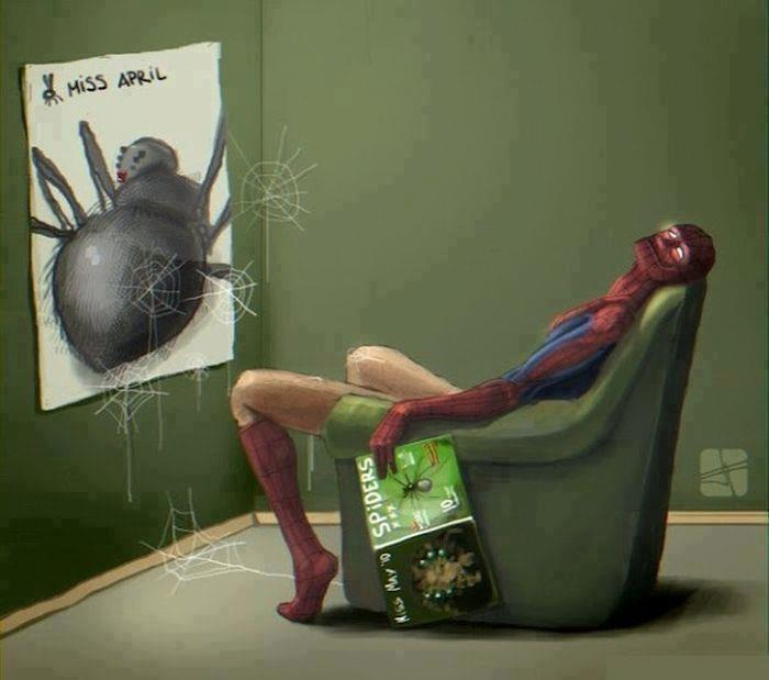 Spider jizz