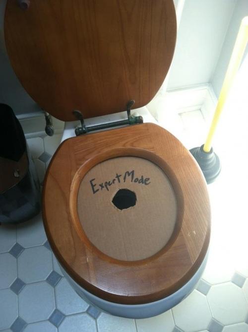 Toilet expert mode