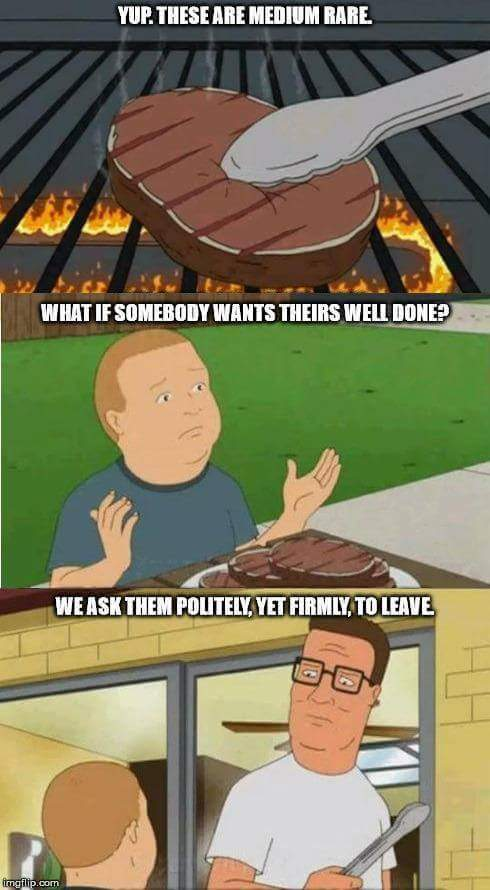Hank Hill knows what's up