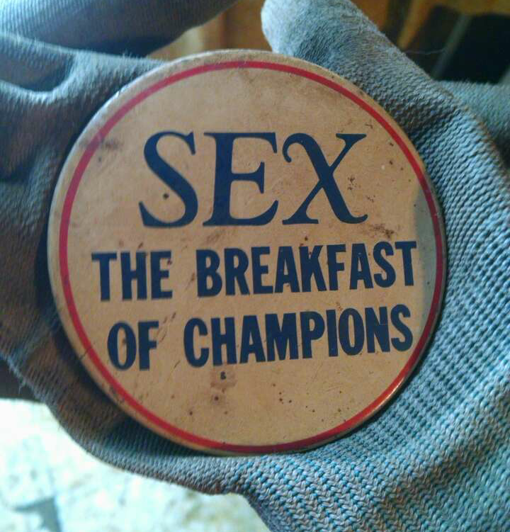 SEX – The breakfast of champions