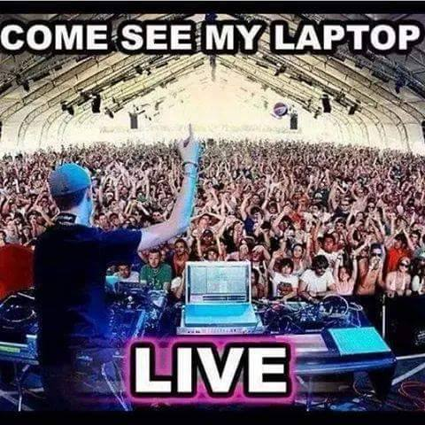 Come see my laptop LIVE!