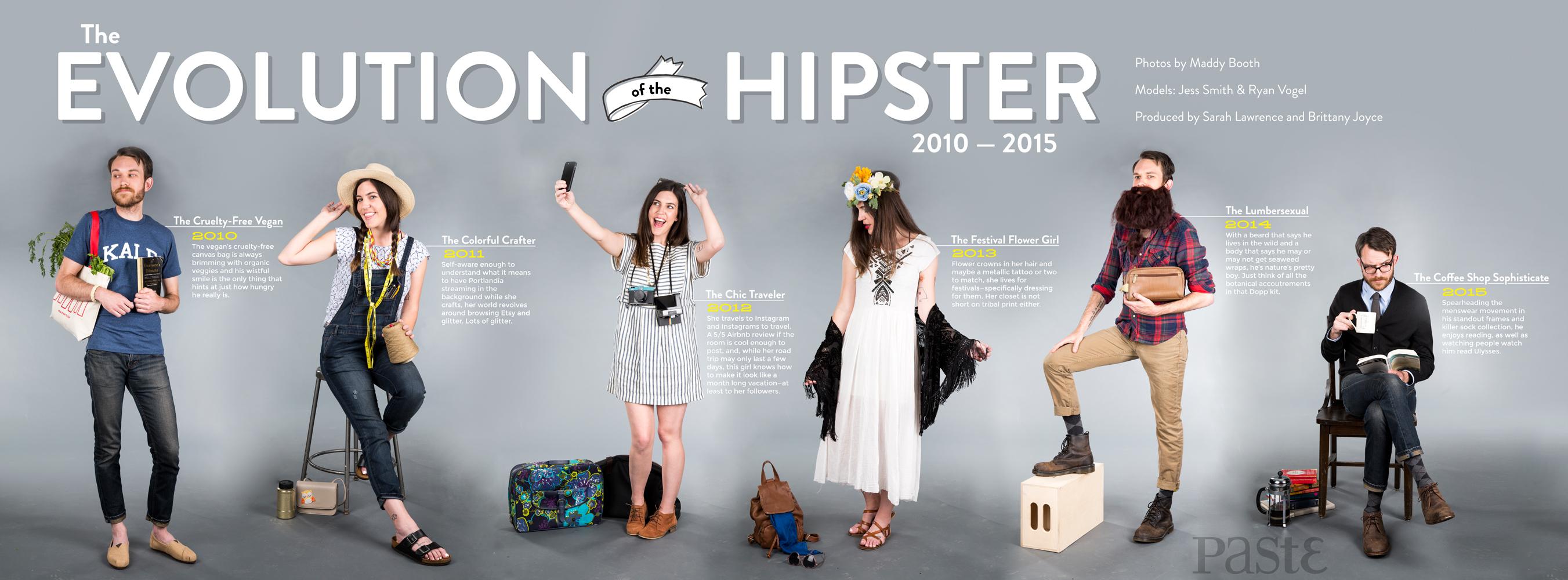 Evolution of a Hipster 2010-2015