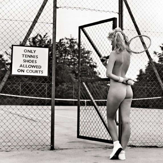 Only tennis shoes allowed on courts