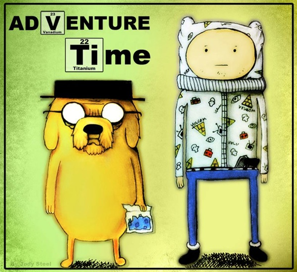 Breaking bad adventure time