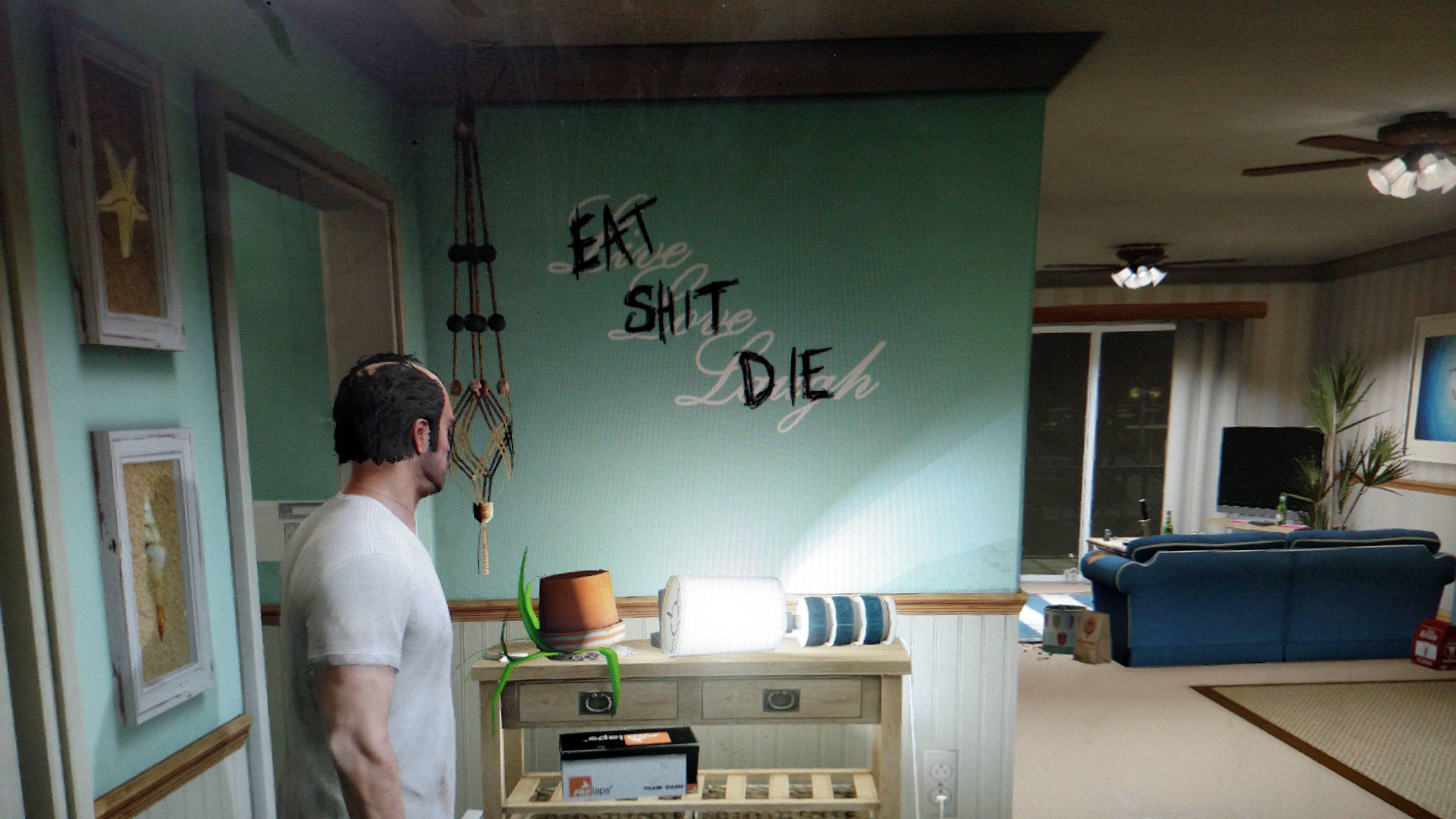 Eat shit die