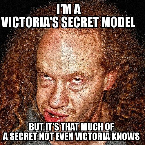 I'm a victoria's secret model