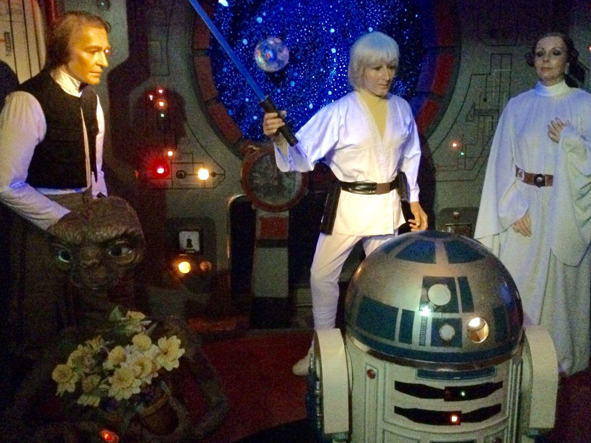 I'm not sure if the curators of the Barcelona Wax Museum have actually seen Star Wars.