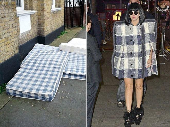 Lady Gaga looks like a mattress