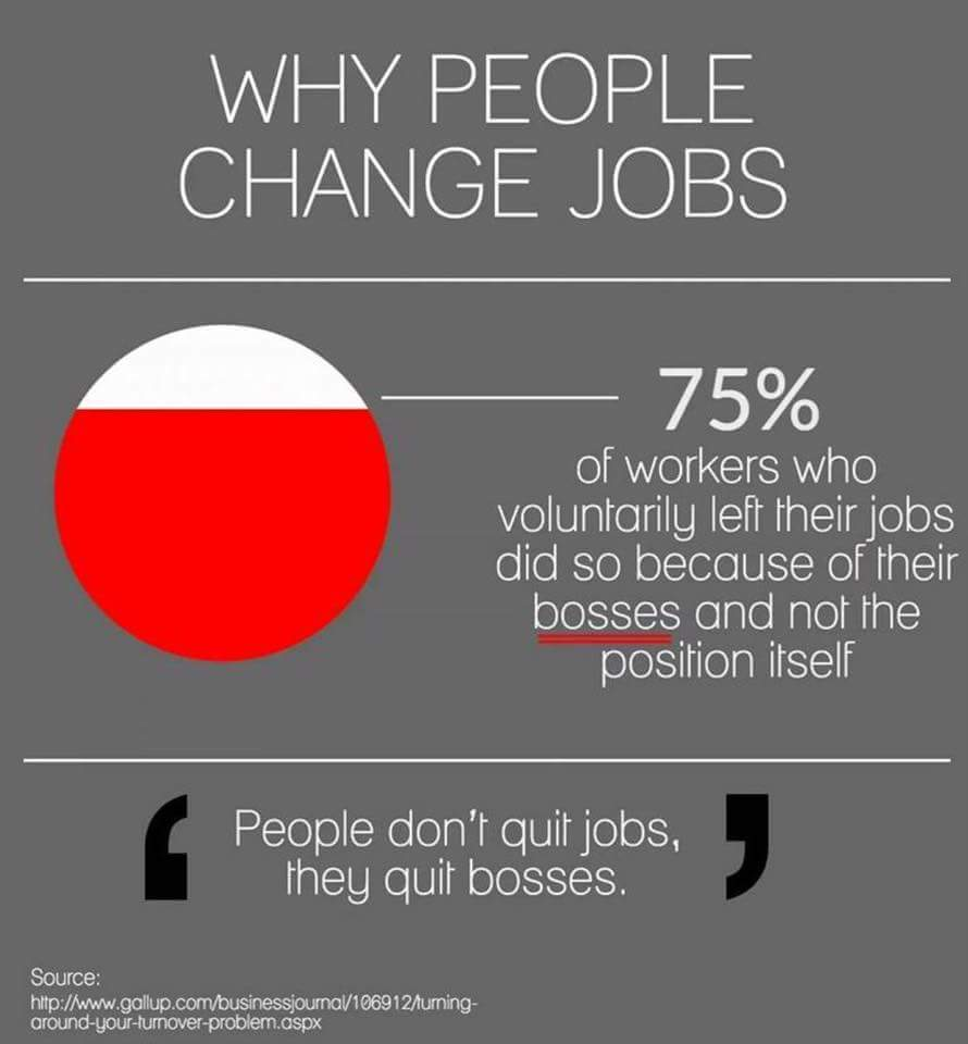Why people change jobs