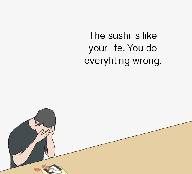How to make sushi #4
