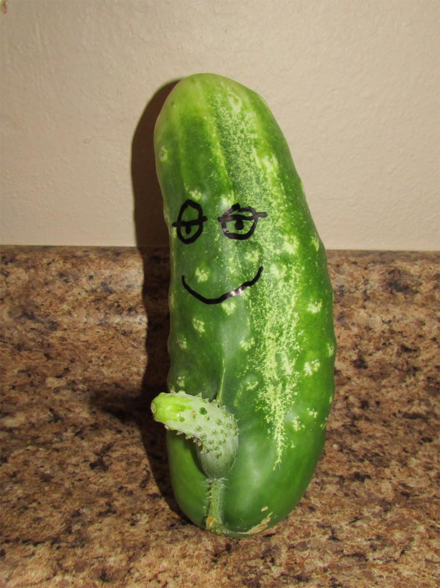 Hello Mr. Cucumber!