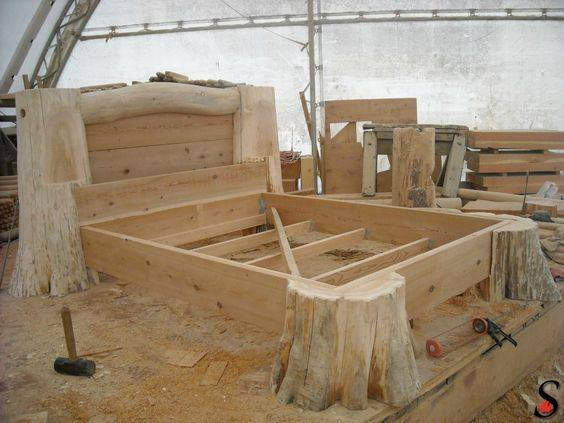 Creative idea for a bed frame