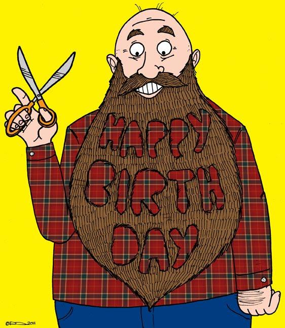 Happy Birthday Beard