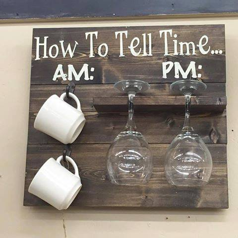 How to tell time…