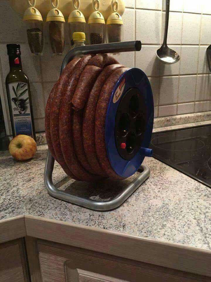 Long lasting sausage