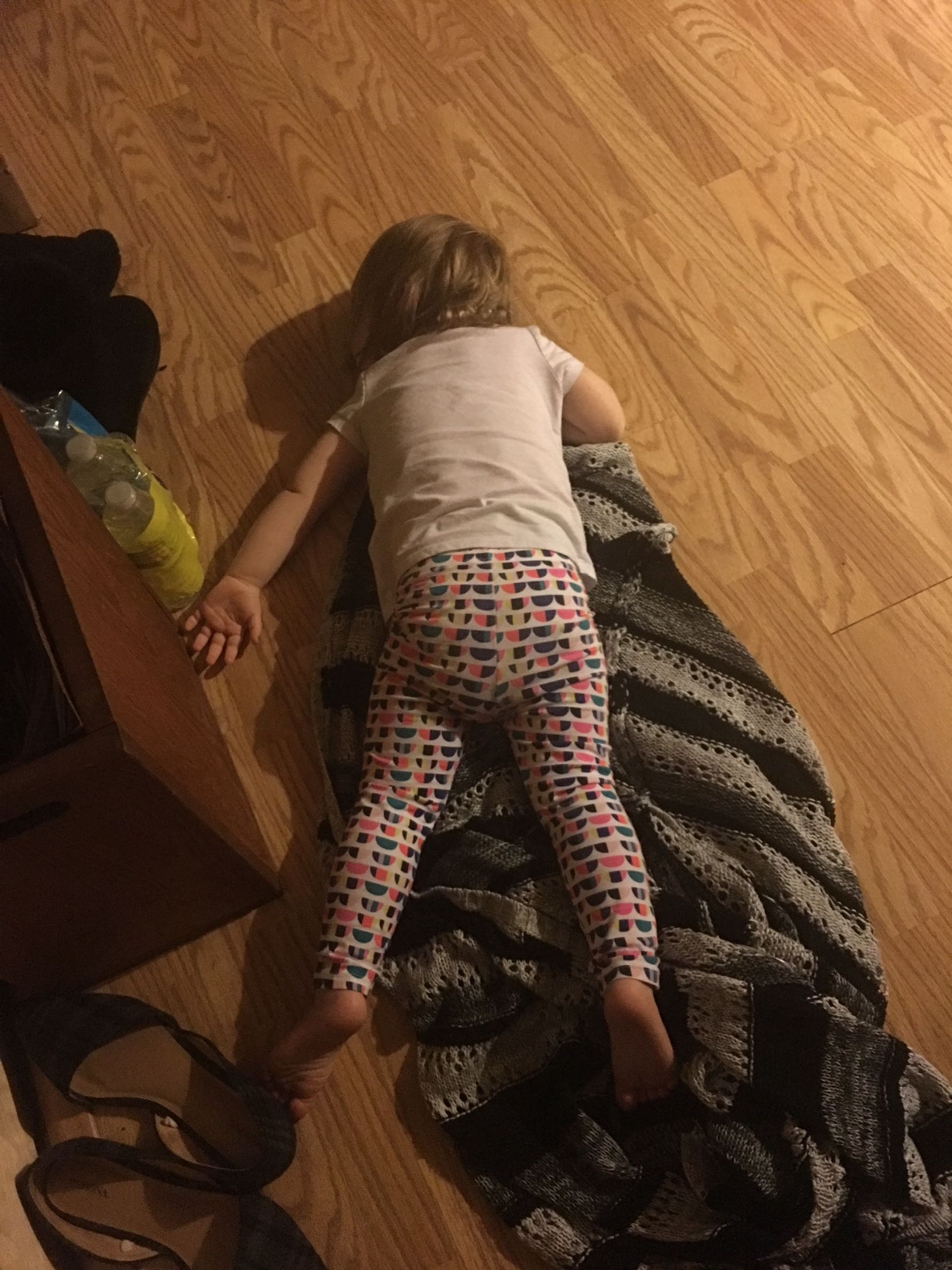 Toddlers are like drunk adults…