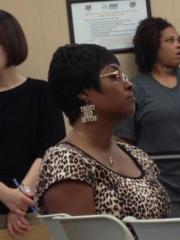 """""""Trust no bitch"""" earrings"""
