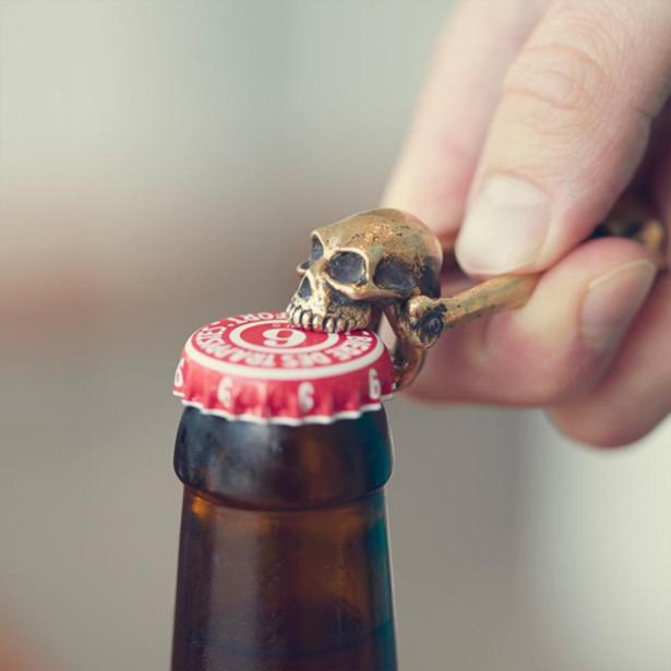 Cool skull bottle opener