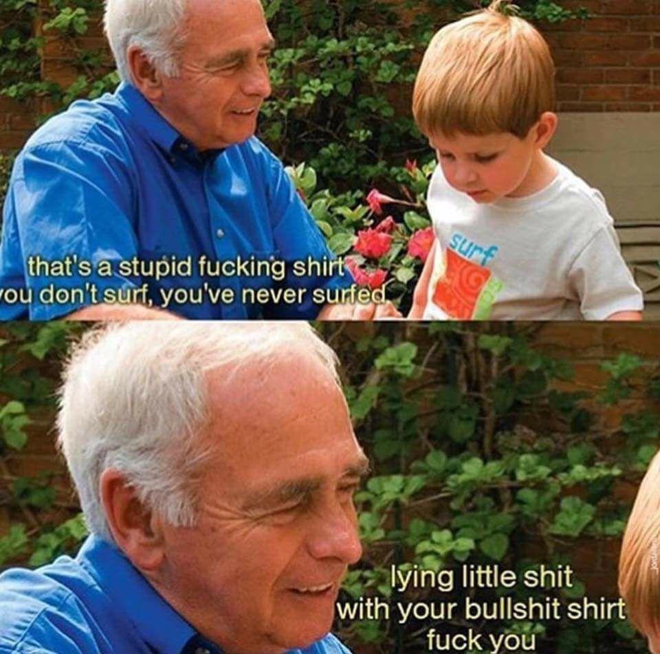 Stupid lying shirt