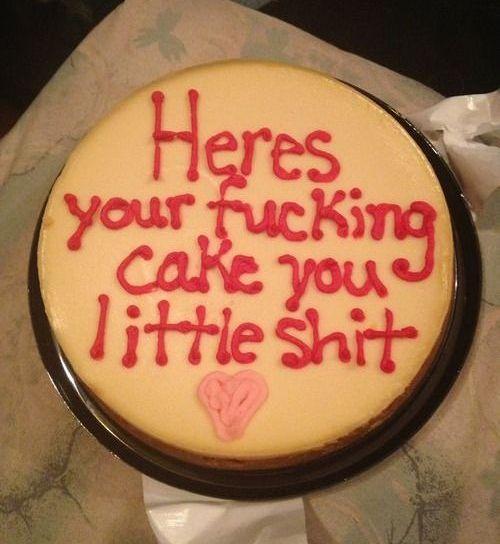 Totally honest cake