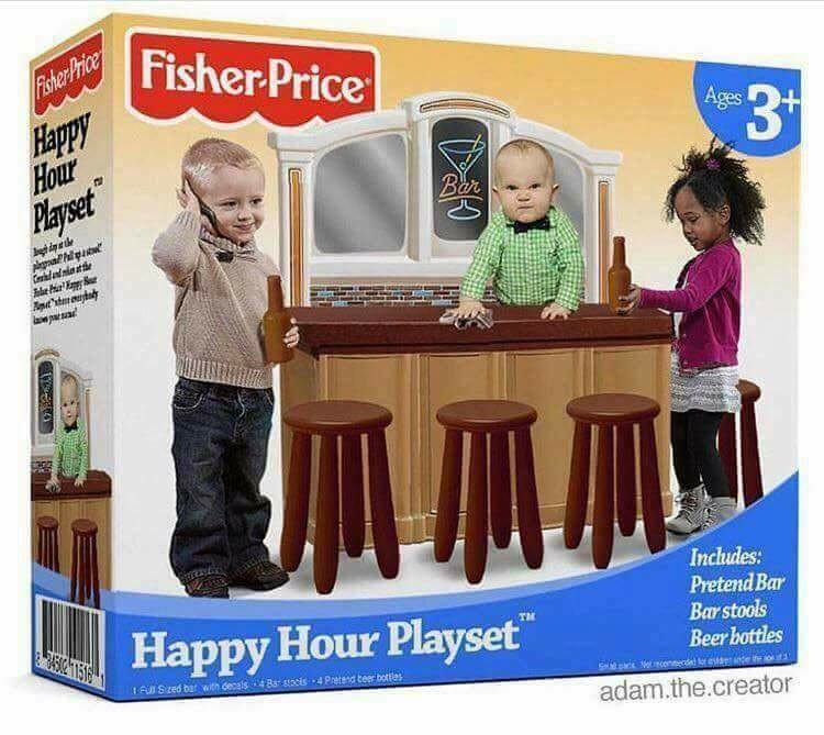 Happy Hour Playset…why wait until 18