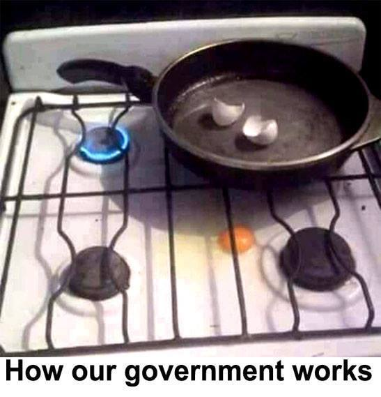 How our government works…