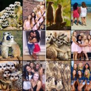 Me and my sisters..ever notice how sorority girls pose exactly like meerkats in pictures