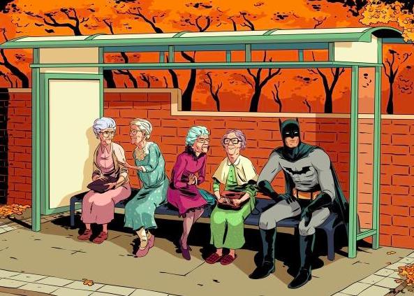 Nana, Nana, Nana, Nana, Batman!