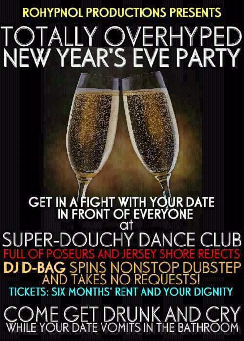 This NYE party is going to be off the hook