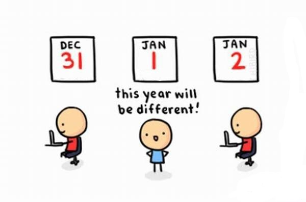 This year will be different!