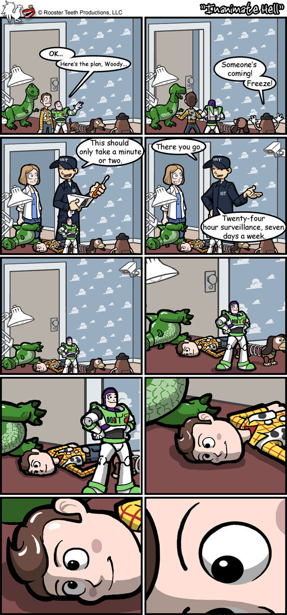 Toy Story 3 – The Alternate Ending.