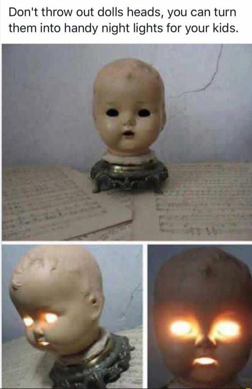 Handy nightlights for your kids