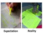 Highlighting important parts.
